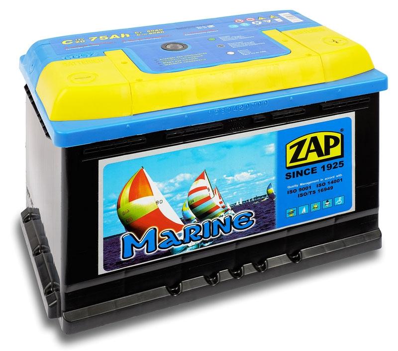 Zap ( - +)  75 A-h  MARINE