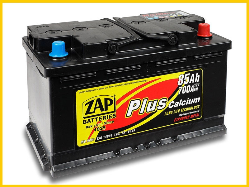 Zap (- +)  88 A-h  Plus